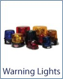 Warning reflector rotating lights